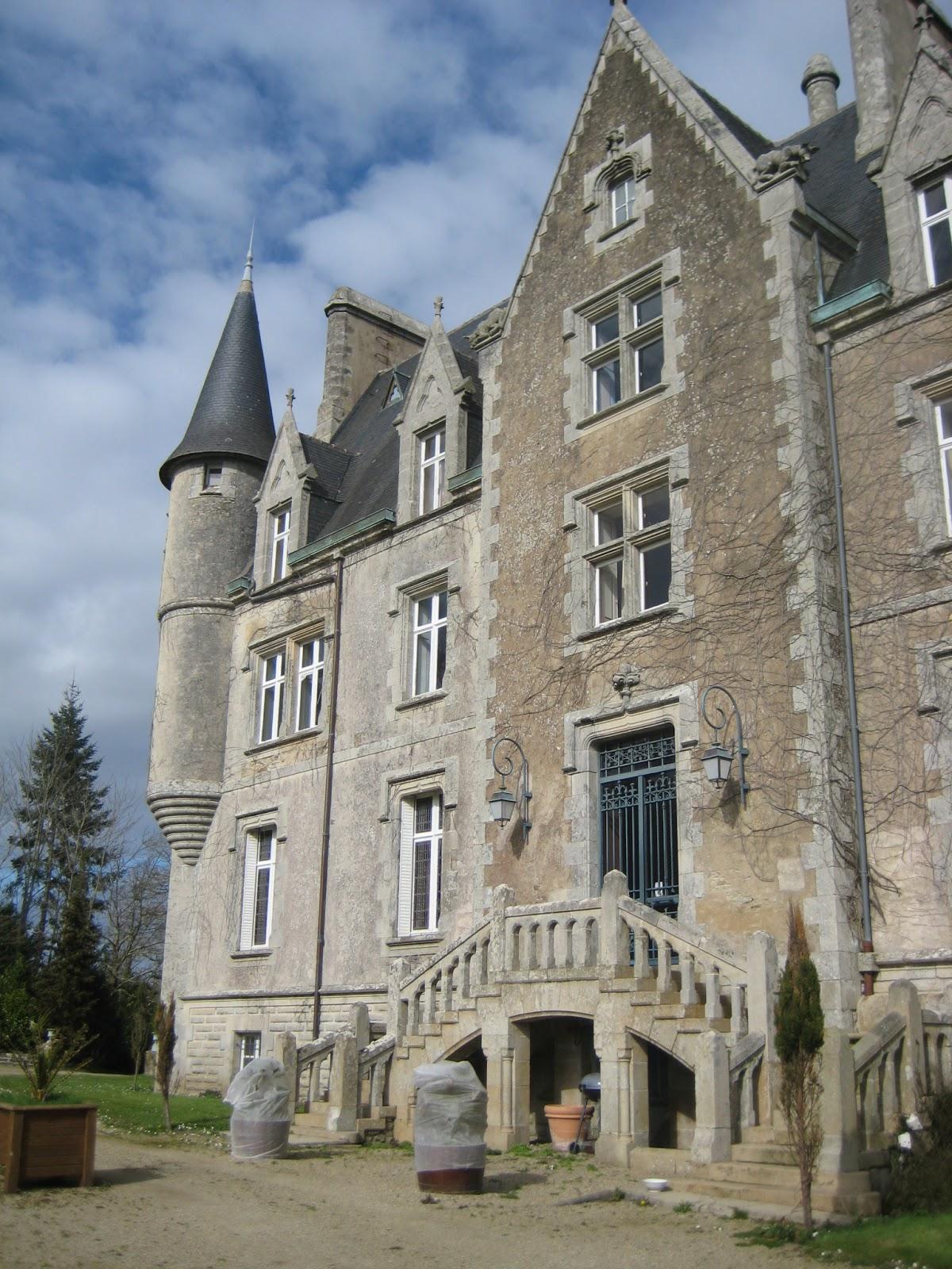 chateau de kerambleiz a vendre