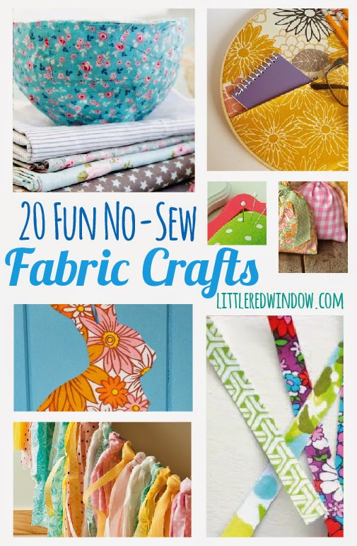 20 Fun No-Sew Fabric Crafts