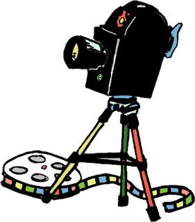 imagen de camara de cine: