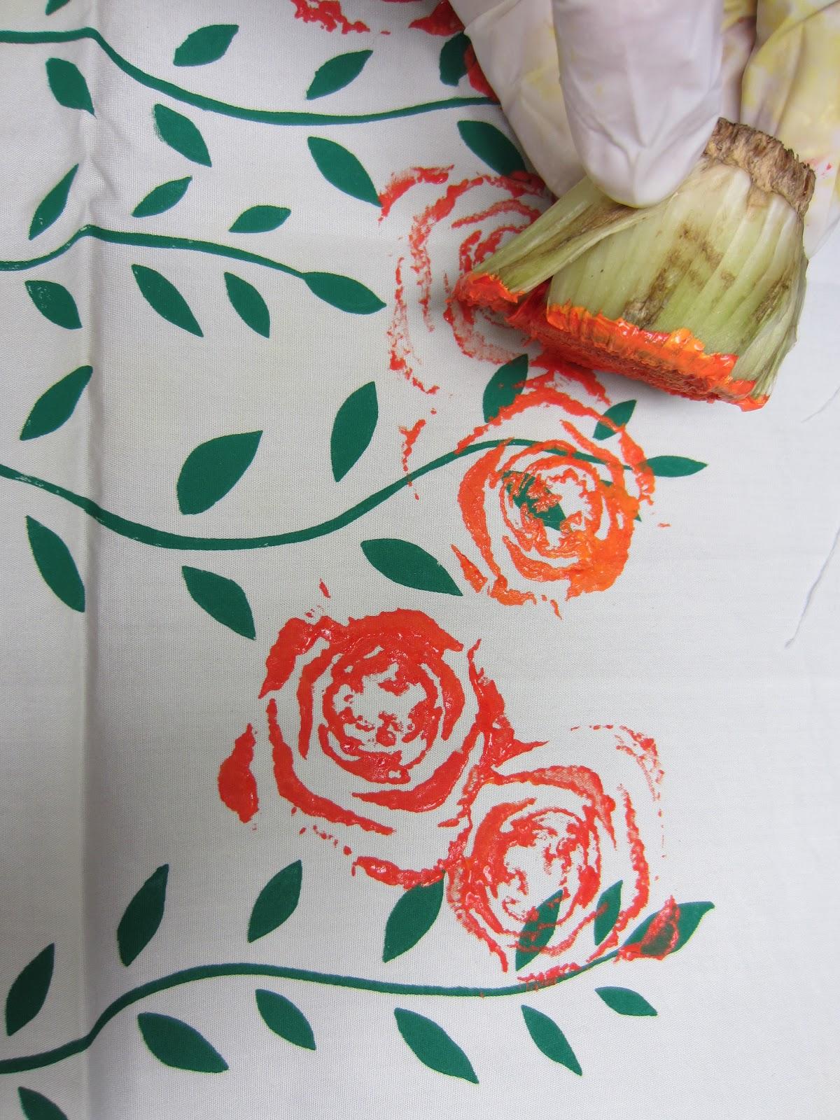 Vegetable printing designs images for Vegetable design
