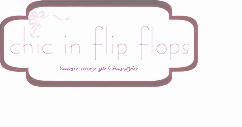 Chic in flip flops
