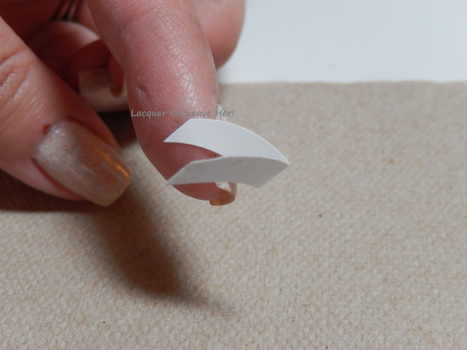 Lacquer or Leave Her!: Tutorial: Stamped French Manicure