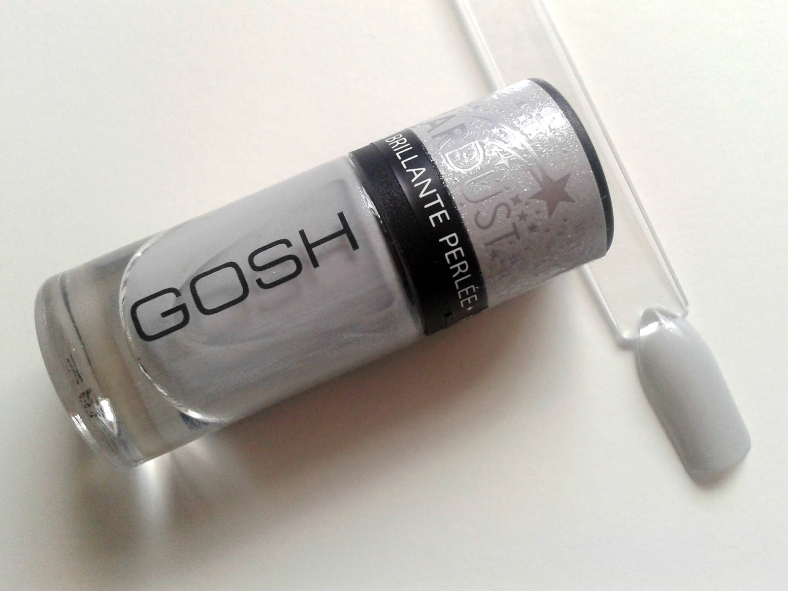 GOSH Nail Polish in Milky Way (629) Beauty Review Swatch Stardust Collection