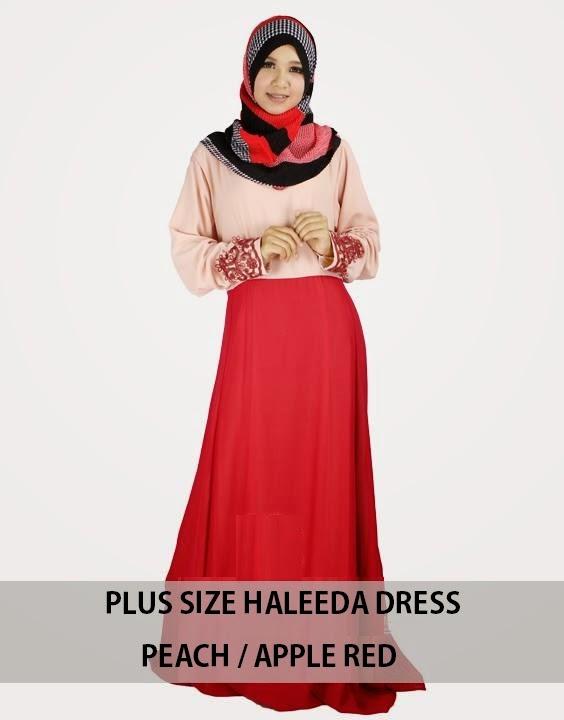 PLUS SIZE HALEEDA DRESS