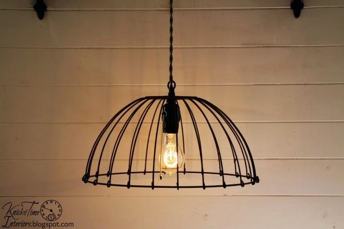 Vintage Repurposed Lamps & Lights via http://knickoftimeinteriors.blogspot.com/