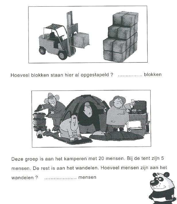 Groep 6: Rekenen groep 3