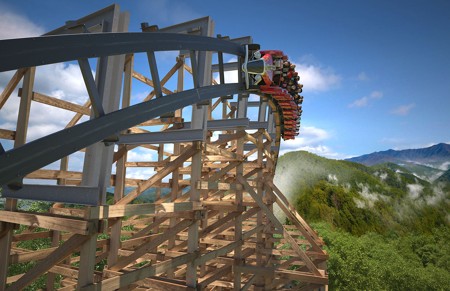 NewsPlusNotes: Lightning Rod to Strike at Dollywood in 2016!