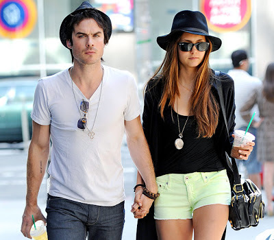 Nina Dobrev - Ian Somerhalder hot celebrity couple