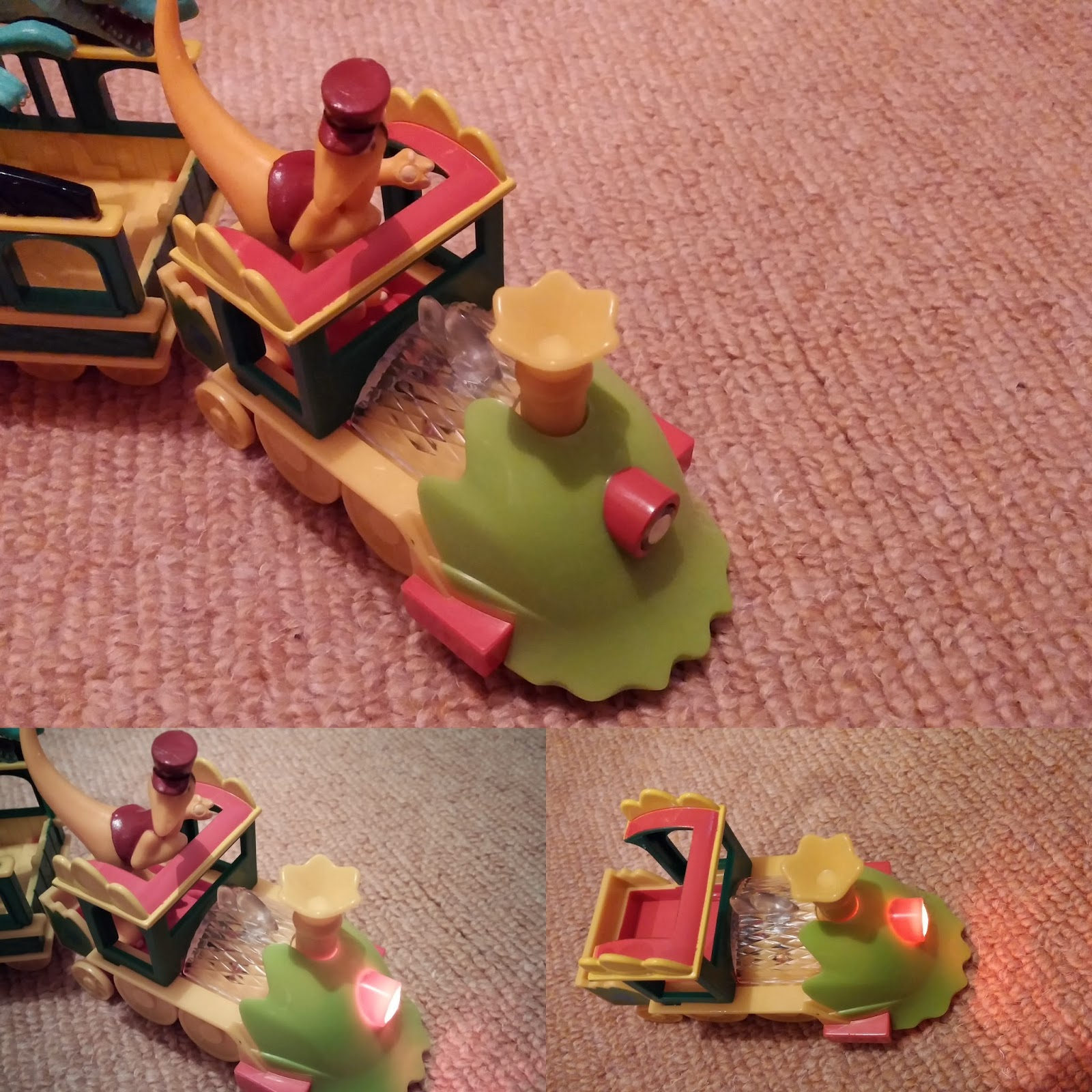 Dinosaur Train Lights Train