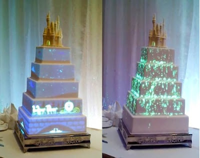 Disney's latest wedding cake technology