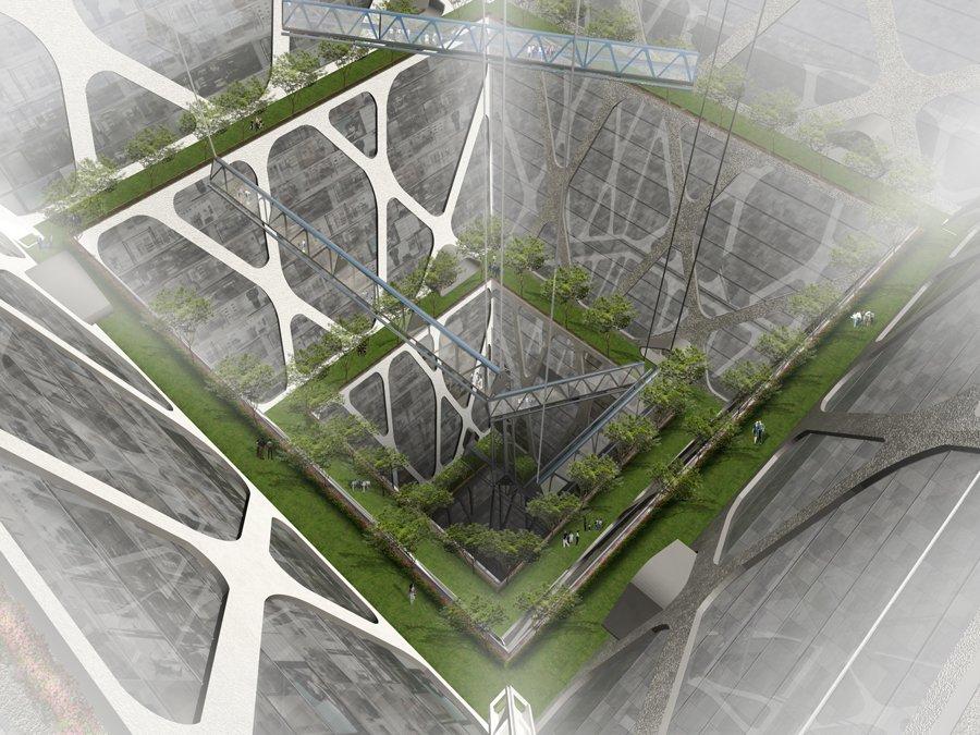 Unterirdische Pyramide in Mexiko-Stadt