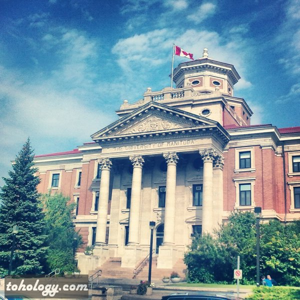 University of Manitoba Administration Building in Winnipeg Canada
