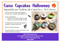 Curso cupcakes Halloween