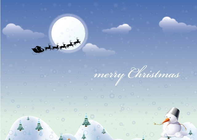 Christmas Santa Snowman Wallpapers Widescreen Free Desktop Christian HD Tree