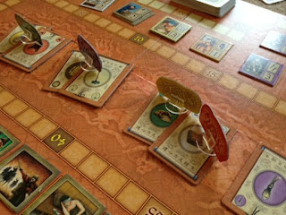 Stefan Feld's In the Year of the Dragon game