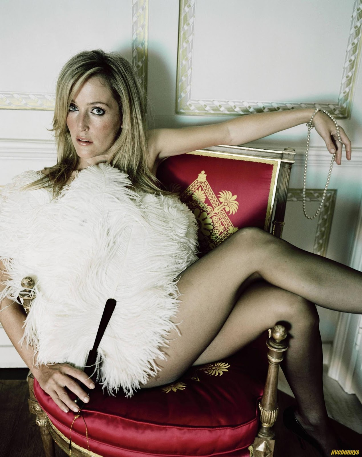 Gillian Anderson nude, topless pictures, playboy photos