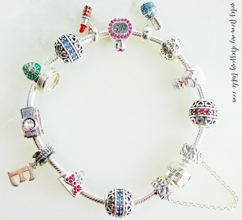 My Soufeel Charm Bracelet notesfrommydressingtable.com