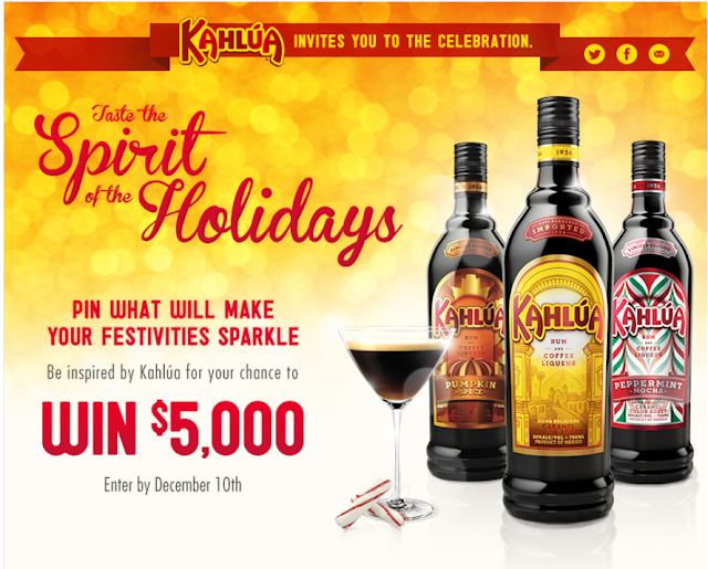 Kahlúa- Taste the Spirit of the Holidays