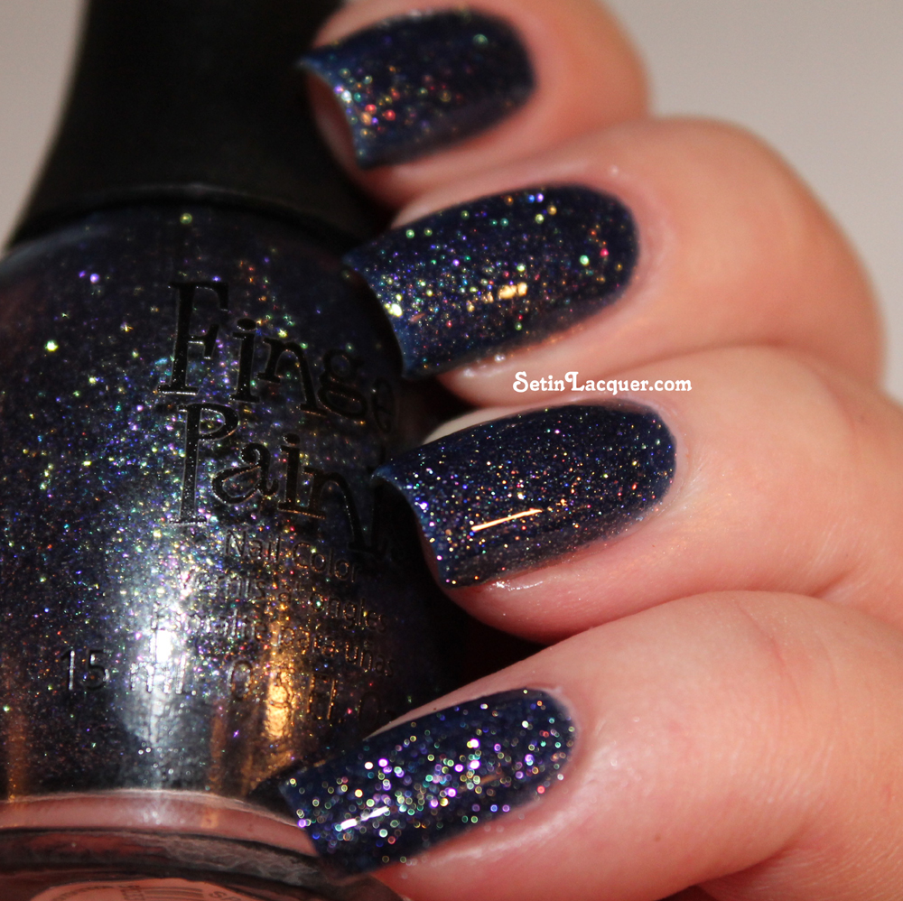 Sparkle in the Sky with topcoat