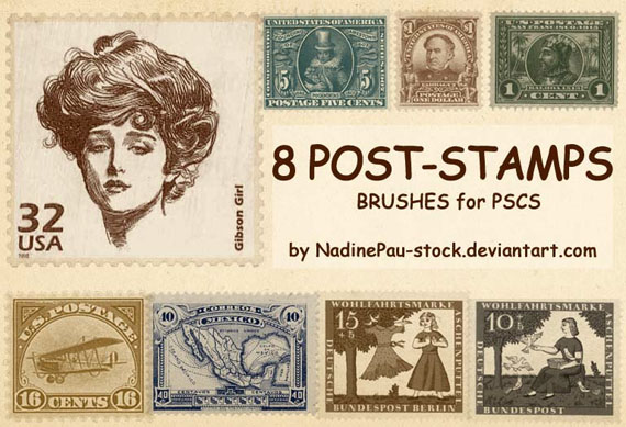 Ps brushes Old Stamp