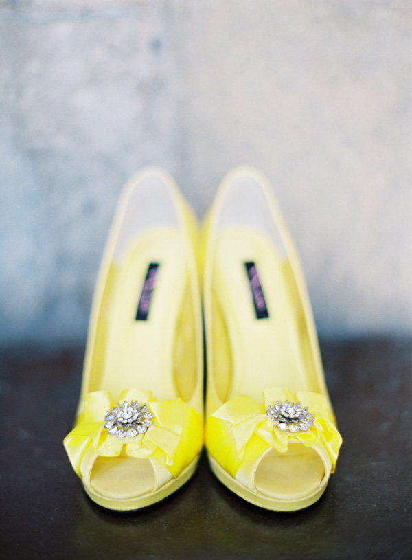 i heart wedding dress yellow wedding shoes