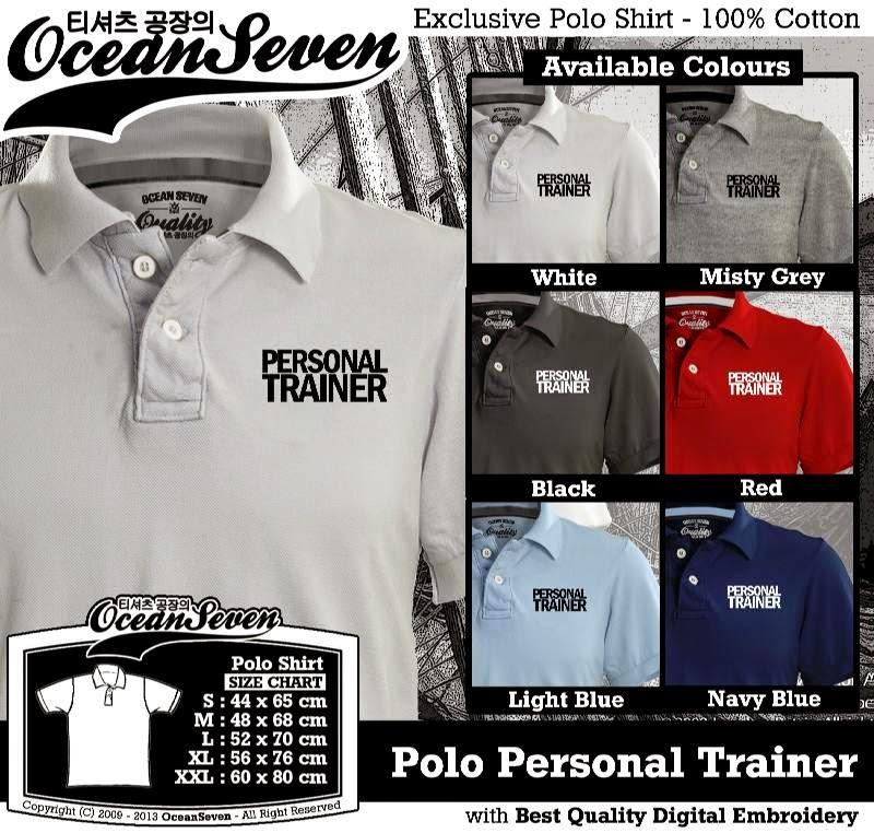 Kaos Polo Personal Trainer