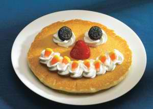 Free Count Spatula Scary Face Pancake