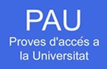 Proves d'accés a la Universitat