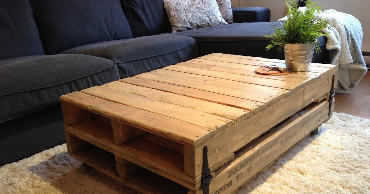 The brew almost free coffee table for Tarimas de madera para jardin