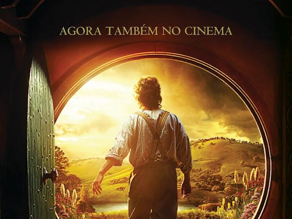 O Hobbit de J. R. R. Tolkien edição com a capa do filme em pré-venda