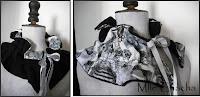 collier, pendentif, rétro, vintage, romantique, bohème, Bandeau, turban, ceinture, accessoire de mode, créateur,Mlle chacha, bandeau, col écharpe, turban, français, fait main,tour de cou