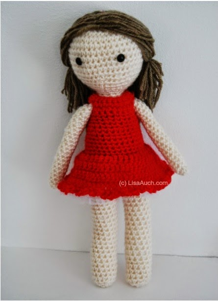 Crocheting Dolls : Free Crochet Amigurumi Doll Pattern (A Basic Crochet Doll Pattern FREE ...