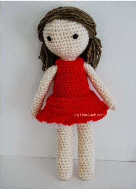 Free Crochet Amigurumi Doll Pattern Basic Crochet Doll Pattern