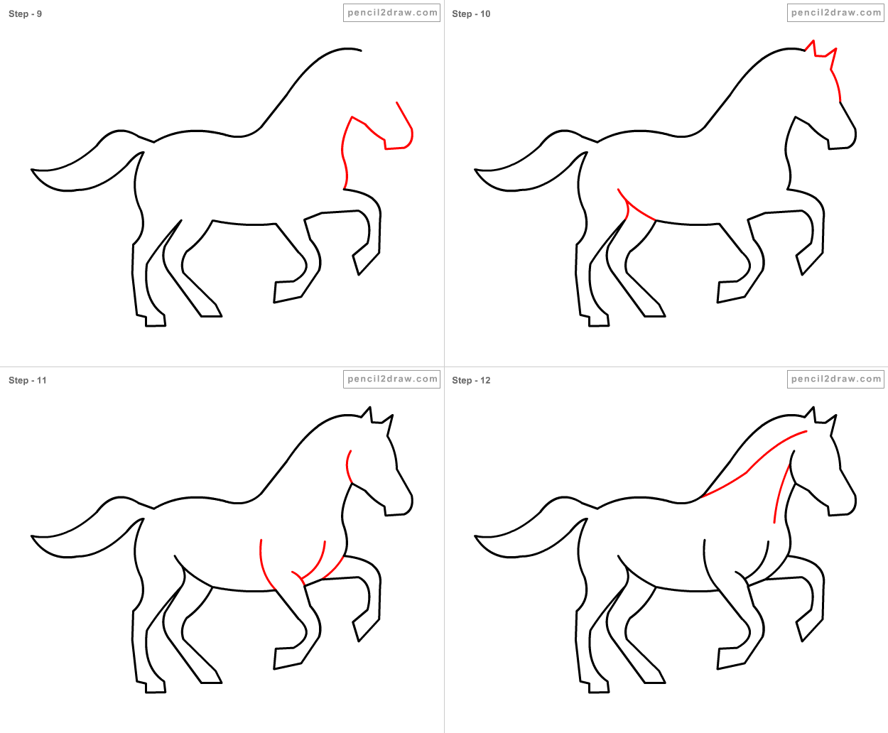 How To Draw A Horse Stepbystep · Horse Coloring Book Android Apps On Google  Play Horse
