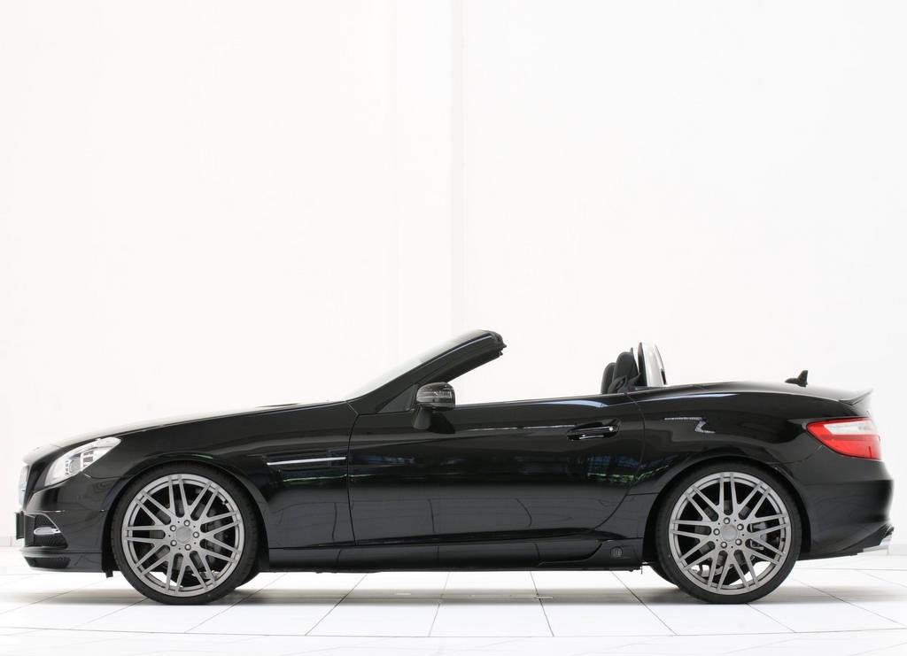 Mercedes Benz Slk Brabus Car Wallpapers 2012