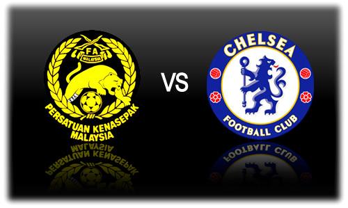 MALAYSIA VS CHELSEA 21 JULAI 2013