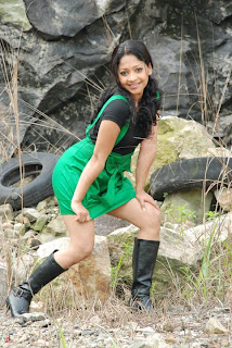 Sri Lankan sexy slim model Jeewya Hansi Perera blue skinny and very short skirt shows her milky legs extremely hot