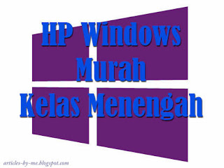 HP Windows Murah Kelas Menengah