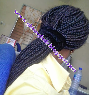 box braids for hair growth