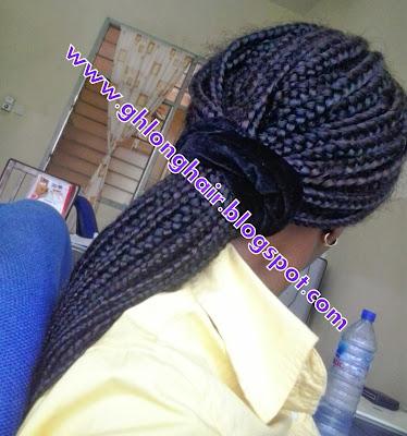 box braids for hair growth