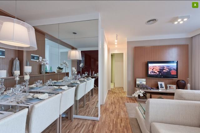 apartamento decorado 4 Apartamentos Decorados :: Inspirações