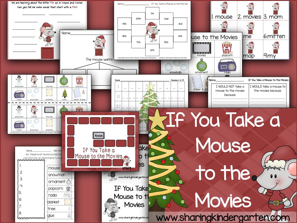 http://www.teacherspayteachers.com/Product/If-You-Take-a-Mouse-to-the-Movies-Unit-411057