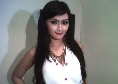 Citra Marcelina Pelantun lagu dangdut 'Icikiwir'