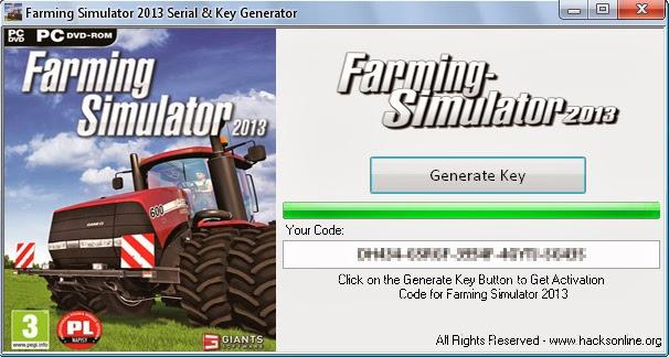 Keygen Farming Simulator 2013 (Activation Keys) ~ Download