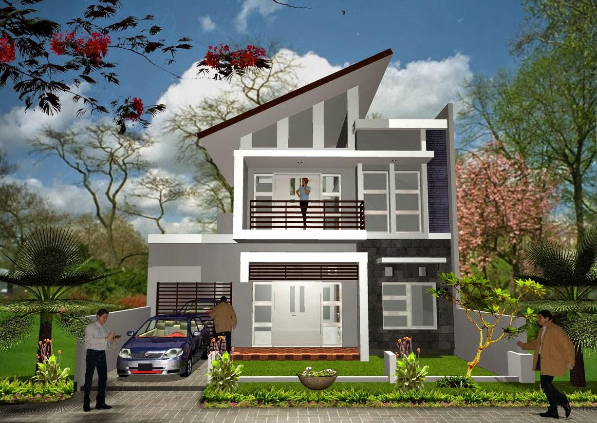Contoh Desain Rumah Minimalis Indah