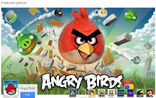 Google+ game angry bird