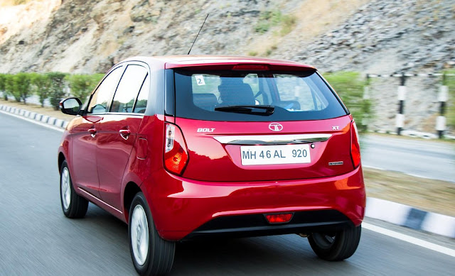 New Launched Tata Bolt Hatchback Car At RS 440000