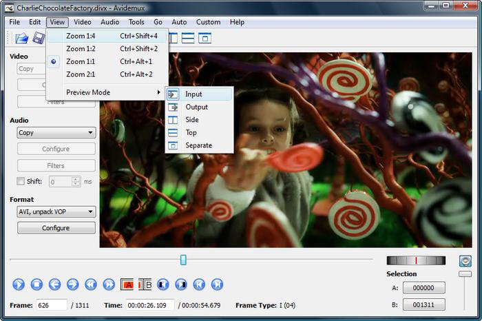 برنامج avidemux 2014 لتقطيع وتحرير الفيديوهات