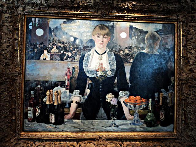 A Bar At The Folies Bergere Manet Ozge Genc: 'A Bar at t...