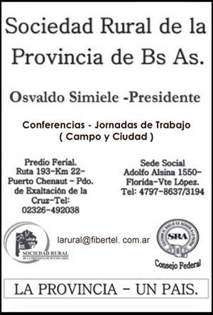 Sociedad Rural Prov. Buenos AIres